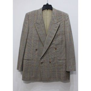 Gianfranco Ferre double breasted sport coat 52 R